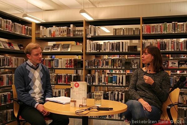Sebastian Jazdzewski og Cecilie Enger.  Foto: Elin Bekkebråten Sjølie © 2014