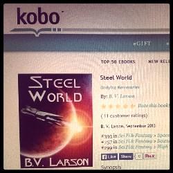 Boka kan kjøpes som e-bok bl.a. hos Kobo.
