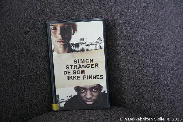 Boka ble lånt på biblioteket.